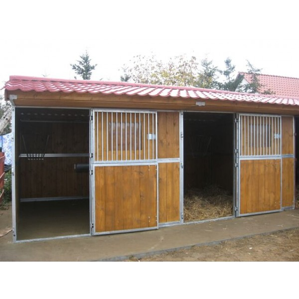 Box exterior individual for Puertas de madera correderas exteriores